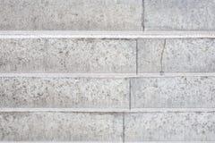 Abstracte achtergrond - concrete lichtgrijze treden Stock Foto's