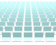 Abstracte Achtergrond de bedrijfsVan de Computertechnologie Royalty-vrije Stock Afbeelding