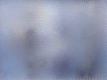 Abstracte achtergrond in de vorm van blauw gevormd glas Royalty-vrije Stock Afbeelding