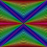 abstracte achtergrond in de vorm van gekleurde stralen stock illustratie