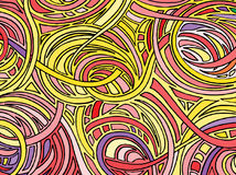 Abstracte achtergrond die uit diverse vormen bestaan Vector vector illustratie