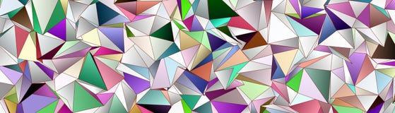 Abstracte achtergrond, driehoekig mozaïek Stock Foto