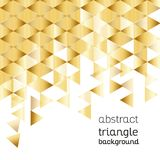 Abstracte achtergrond, driehoekig ontwerp Stock Foto's