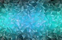 abstracte achtergrond Driehoekige textuur Stock Afbeelding
