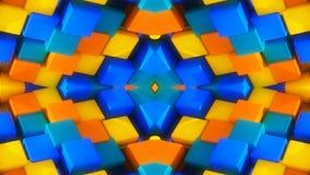 Abstracte achtergrond en kleuren Stock Afbeelding