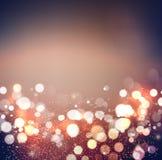 abstracte achtergrond Feestelijke elegante abstracte achtergrond met bokehlichten Royalty-vrije Stock Afbeeldingen