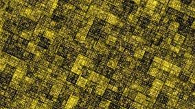 Abstracte achtergrond in geel met opvlammend licht stock illustratie