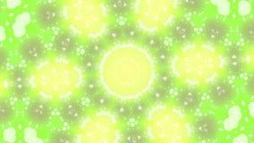 Abstracte achtergrond in Geelgroene tonen vector illustratie