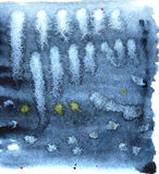 abstracte achtergrond Het patroonontwerp van de Grungeoppervlakte De textuur van waterverfwassen Stock Afbeeldingen