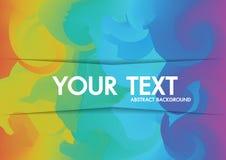 Abstracte Achtergrond Holografische neon exemplaar-ruimte voor tekst Royalty-vrije Stock Foto's