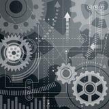 Abstracte achtergrond II van de Technologie vector illustratie