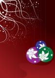 Abstracte achtergrond. Kerstmis Royalty-vrije Stock Foto's