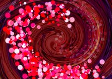 abstracte achtergrond Kleurrijke behangachtergrond Het kleurrijke abstracte acryl schilderen de achtergrond van de mengselkleur royalty-vrije illustratie