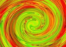 abstracte achtergrond Kleurrijke behangachtergrond Het kleurrijke abstracte acryl schilderen de achtergrond van de mengselkleur vector illustratie