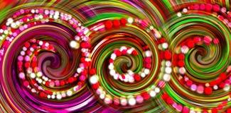 abstracte achtergrond Kleurrijke behangachtergrond Het kleurrijke abstracte acryl schilderen de achtergrond van de mengselkleur stock illustratie
