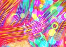 abstracte achtergrond Kleurrijke behangachtergrond Het kleurrijke abstracte acryl schilderen de achtergrond van de mengselkleur R vector illustratie