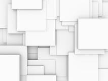 Abstracte achtergrond - kubussen Royalty-vrije Stock Fotografie