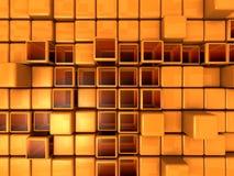 Abstracte Achtergrond - Kubussen stock illustratie
