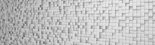 Abstracte achtergrond - kubussen - metall Royalty-vrije Stock Afbeelding