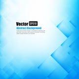 Abstracte achtergrond lichtblauw met basismeetkundeelement vector illustratie