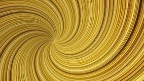Abstracte achtergrond met animatie van omwentelings retro patronen van kleurrijke strepen zoals zonstralen Kleurrijke lijnenwerve vector illustratie