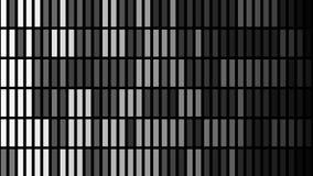 Abstracte achtergrond met animatie van trillingsdeeltjes stock illustratie