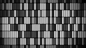 Abstracte achtergrond met animatie van trillingsdeeltjes vector illustratie