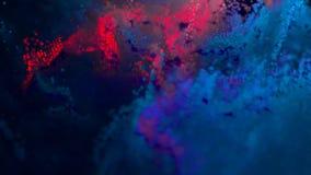 Abstracte achtergrond met 8 bits melkweg met 8 bits in kosmische ruimte stock illustratie