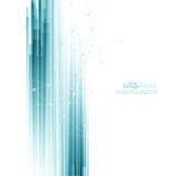 Abstracte achtergrond met blauwe strepen Stock Afbeelding