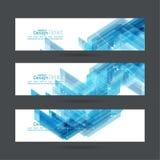 Abstracte achtergrond met blauwe strepenhoek Royalty-vrije Stock Afbeelding