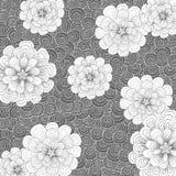 Abstracte achtergrond met bloemen Royalty-vrije Stock Foto