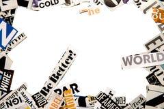 Abstracte achtergrond met brieven royalty-vrije stock foto