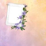 Abstracte achtergrond met frame Stock Foto's
