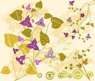 Abstracte achtergrond met frame stock illustratie