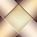 Abstracte achtergrond met gecanneleerde metaaltextuur. Royalty-vrije Stock Foto
