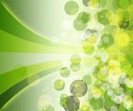 Abstracte achtergrond met gekleurde cirkels Vector Illustratie