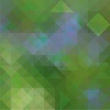 Abstracte achtergrond met geometrische vormen stock illustratie