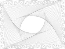 Abstracte achtergrond met golven Royalty-vrije Stock Afbeelding