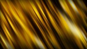 Abstracte achtergrond met golvende gouden lijnen, 3d teruggevende achtergrond stock illustratie