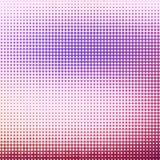 Abstracte achtergrond met halftone effect Royalty-vrije Stock Afbeelding