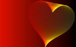 Abstracte achtergrond met hart vector illustratie