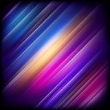 Abstracte achtergrond met het kleurrijke glanzen Eps 10 Stock Foto's