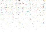 Abstracte achtergrond met kleurencirkels Royalty-vrije Stock Foto