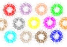 Cirkels Royalty-vrije Stock Foto