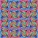 Abstracte achtergrond met kleurrijke draaikolk Royalty-vrije Stock Foto