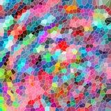 Abstracte achtergrond met kleurrijke vormen royalty-vrije illustratie