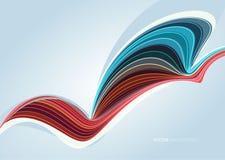Abstracte achtergrond met lijnen Royalty-vrije Stock Foto's