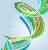 Abstracte achtergrond met lijnen Stock Afbeeldingen