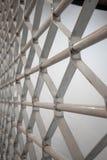 Abstracte achtergrond met perspectieflijn en patroon van metaal D Stock Foto