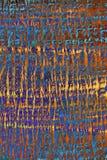 Abstracte achtergrond met psychedelische kleuren Royalty-vrije Stock Foto's
